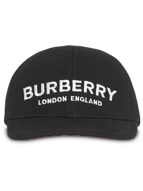 Burberry Kids' Baseballkappe Mit Logo In Neutrals
