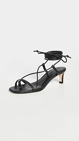 Villa Rouge Dannie Sandals In Black