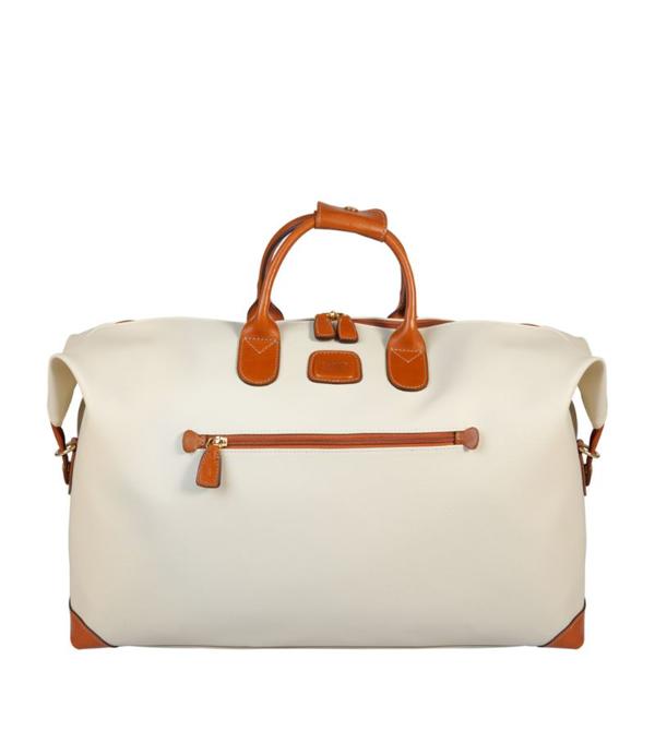 Bric's Firenze 18-inch Cargo Duffle Bag - Beige In Cream
