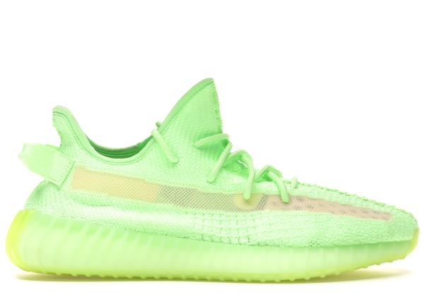 Pre-owned Adidas Originals  Yeezy Boost 350 V2 Glow In Glow/glow/glow