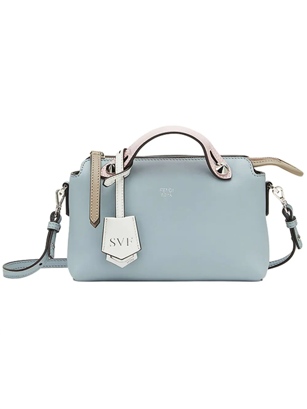 Fendi Kids' By The Way Tote In Blue