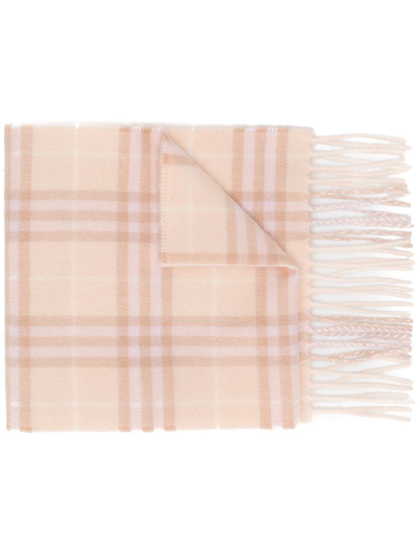 Burberry Kids' Mini Vintage Check Scarf In Pink