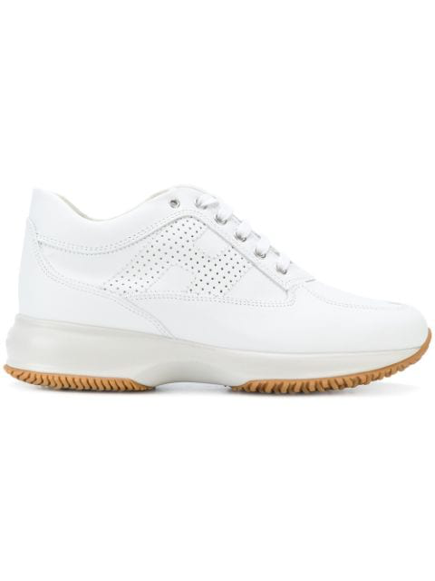 Hogan Interactive H Bucata Sneakers In White