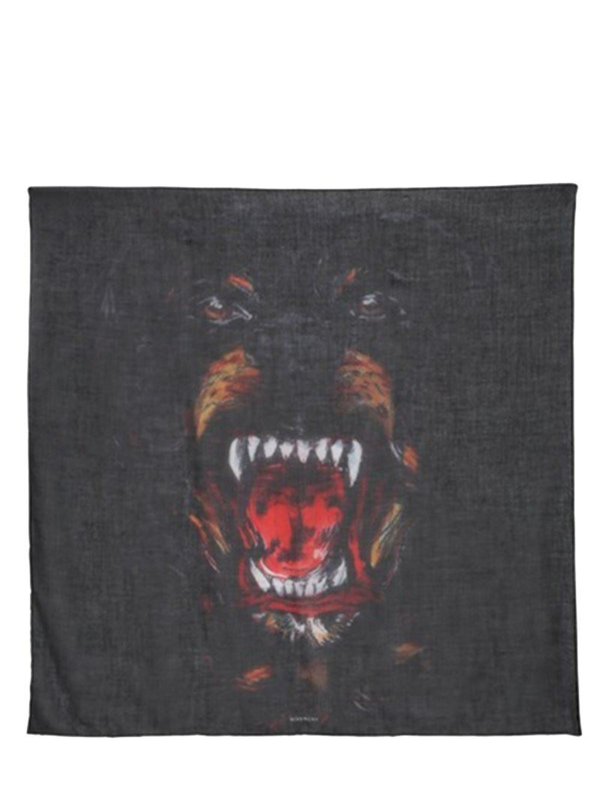 Givenchy Cashmere Shawl In Black