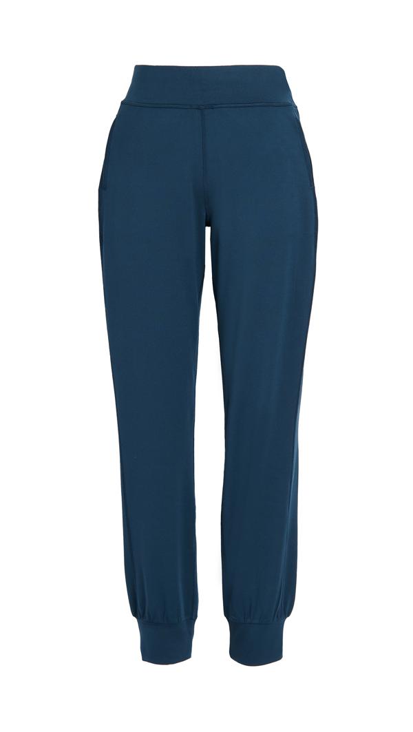 Sweaty Betty Gary Yoga Trousers In Beetle Blue