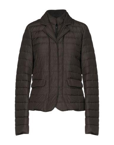 Duvetica Down Jacket In Dark Brown