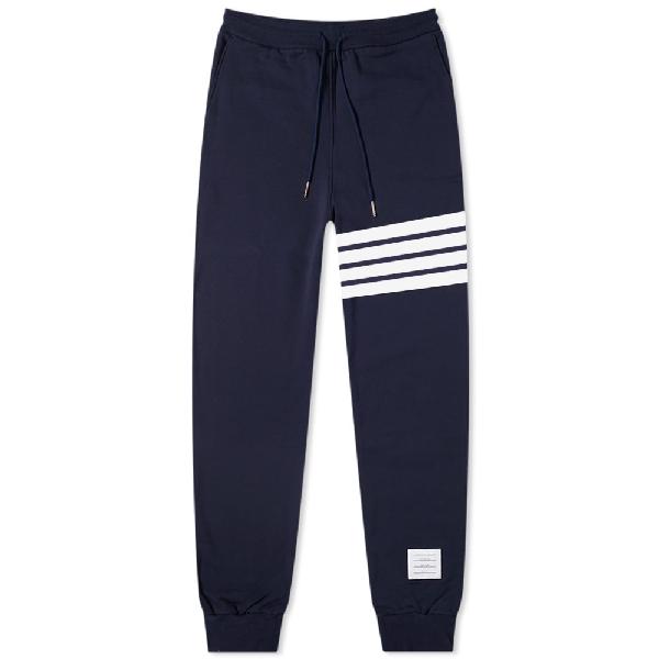 Thom Browne Engineered Stripe Sweat Pant In Blue
