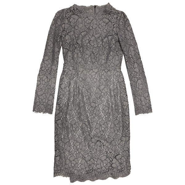 Dolce & Gabbana Grey Lace Dress