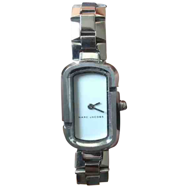 Pre-owned Marc Jacobs Silver Steel Watch