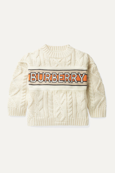 Burberry Kids' Ages 3 In Ivory