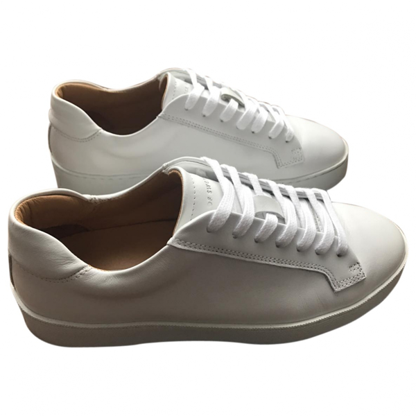 Tiger Of Sweden White Leather Trainers