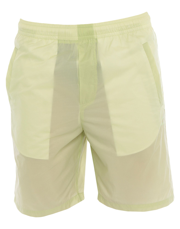 Acne Studios Romeo Ripstop Shorts In Pale Green