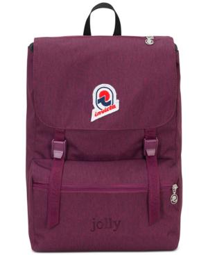 Invicta Men's Jolly S Backpack In Reddish Purple