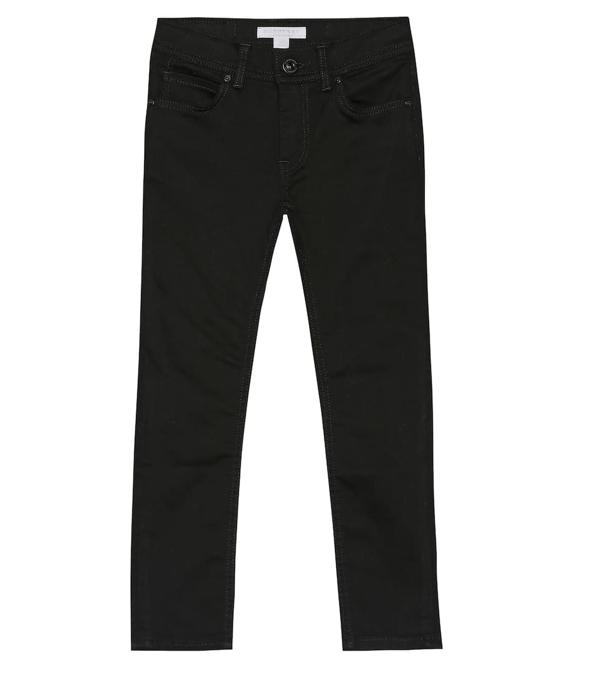 Burberry Kids' Stretch Denim Skinny Jeans In Black