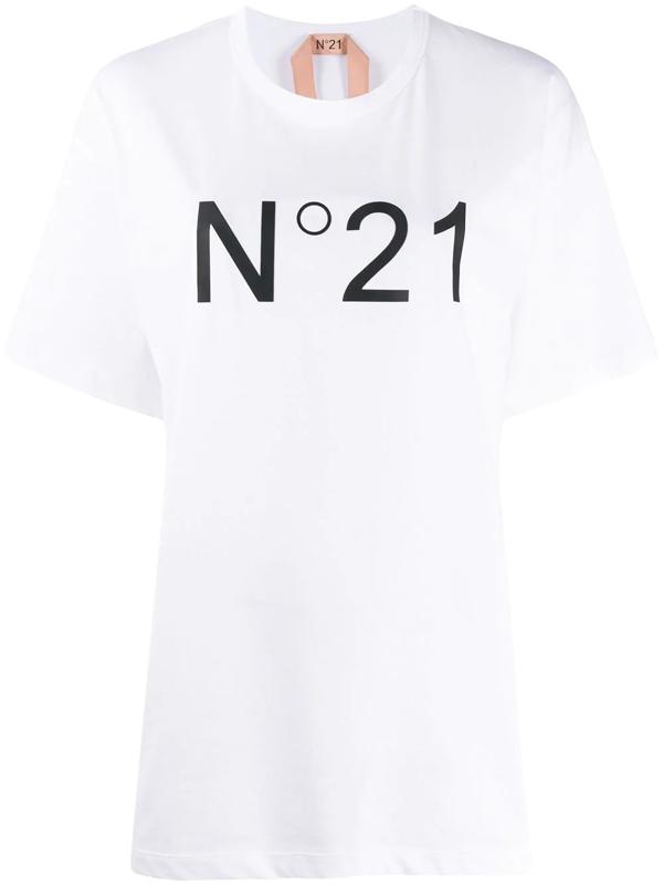 N°21 Women's 20en2m0f01141571101 White Cotton T-shirt