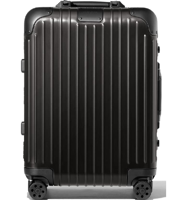 Rimowa Essential Lite Cabin Small 22-inch Wheeled Carry-on In Black