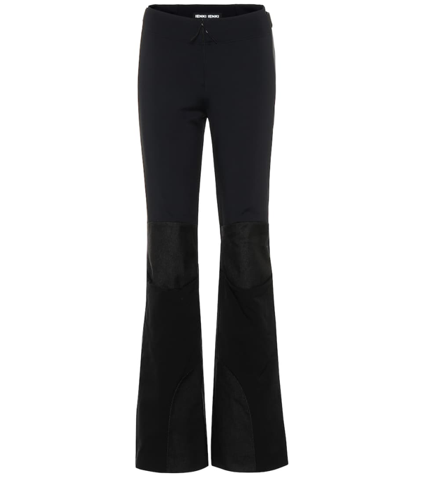 Ienki Ienki Flared Ski Pants In Black