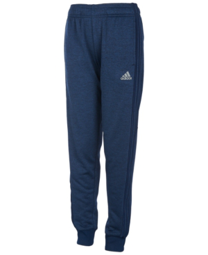 Adidas Originals Boys' Fleece Focus Jogger Pants - Big Kid In Navy