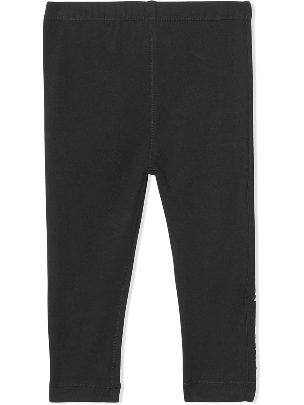 Burberry Babies' Jersey Leggings In Black