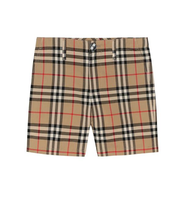 Burberry Boys' Tristen Vintage Check Shorts - Little Kid, Big Kid In Archive Beige Chk