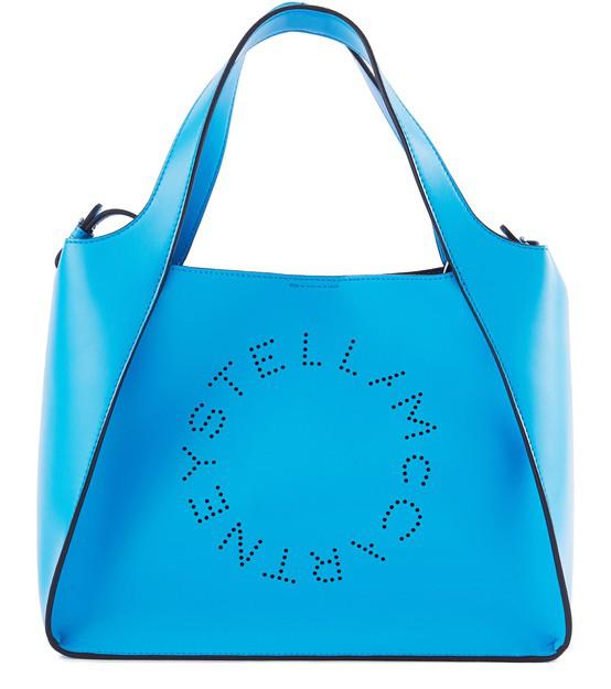 Stella Mccartney Stella Logo Bag In Beige