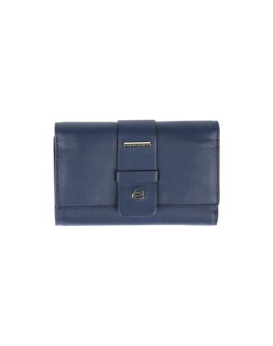 Piquadro Wallet In Dark Blue