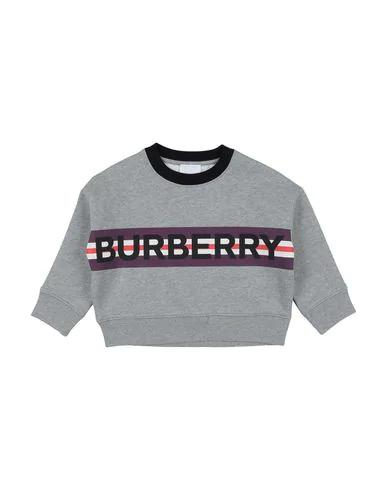 Burberry Boys' Marlon Logo Sweatshirt - Little Kid, Big Kid In Grey