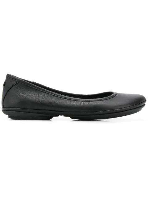Camper Women's Right Nina Ballerina Women's Shoes In Black