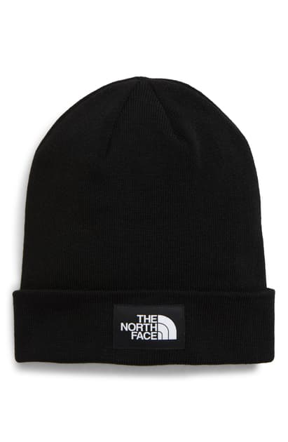 The North Face Dock Worker Recycled Beanie In Tnf Black