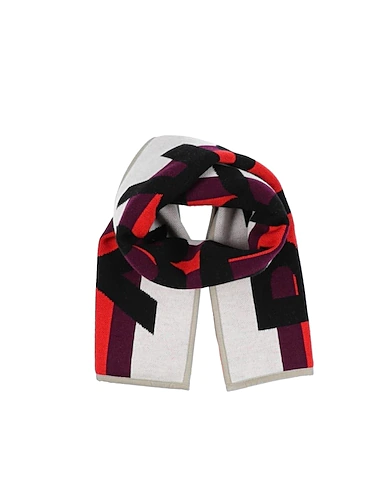 Burberry Kids' Scarf In Ivory