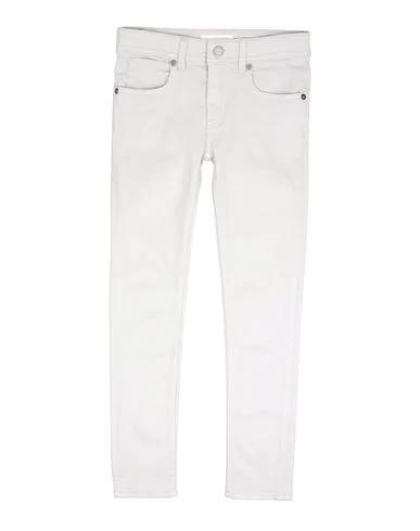 Burberry Kids' Denim Pants In Light Grey