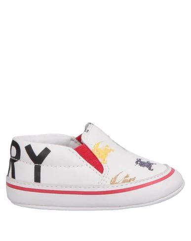 Burberry Kids' Newborn Shoes In White
