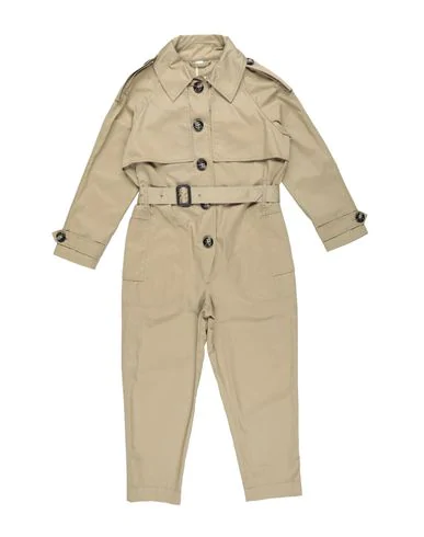 Burberry Kids' Overalls In Sand