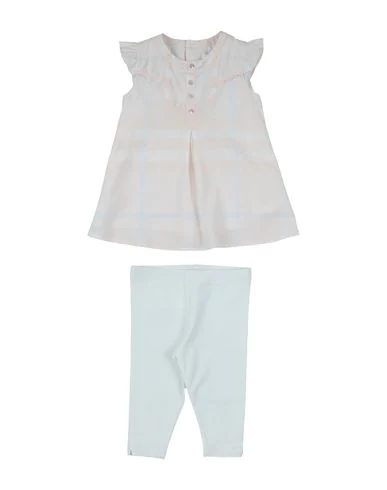 Burberry Babies' Outfits In Light Pink