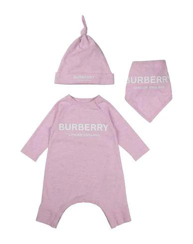 Burberry Babies' Romper In Pink