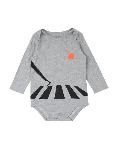 Burberry Babies' Bodysuit In Grey