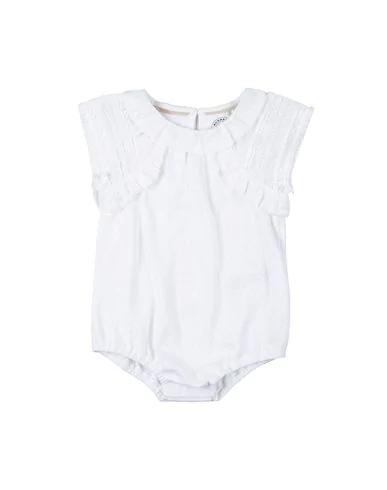 Burberry Babies' Bodysuit In White