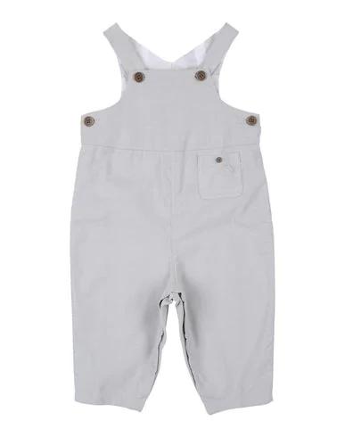 Burberry Babies' Romper In Light Grey
