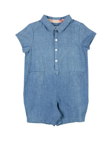 Burberry Babies' Romper In Blue
