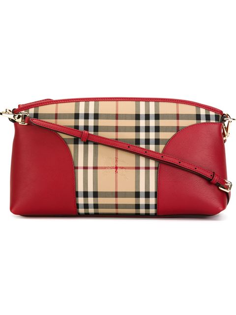 ace76abad087 Burberry  Small Chichester - Horseferry Check  Crossbody Bag In Honey  ...