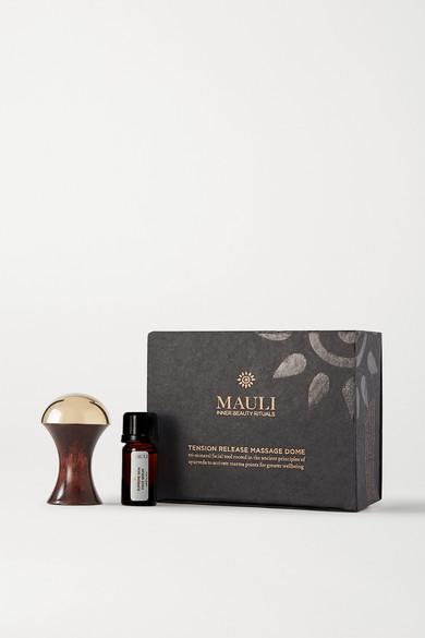 Mauli Rituals Tension Release Massage Dome & Serum Set In Colorless