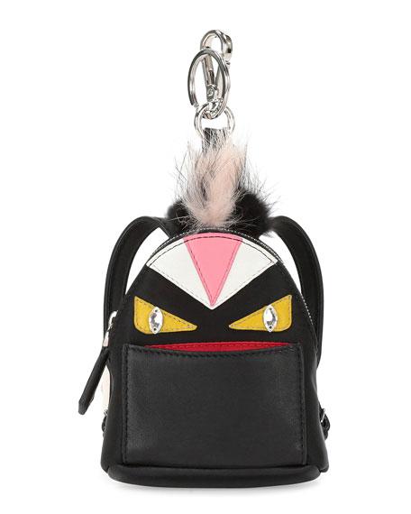aab8aaa3e895 Fendi Mini Monster Backpack Charm For Handbag