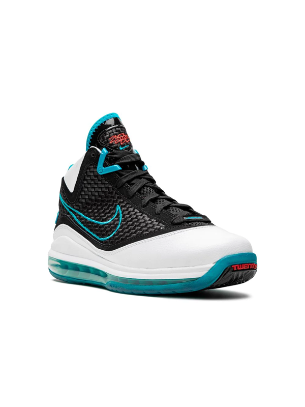 Nike Lebron 7 Big Kids' Shoe (white) - Clearance Sale In Black