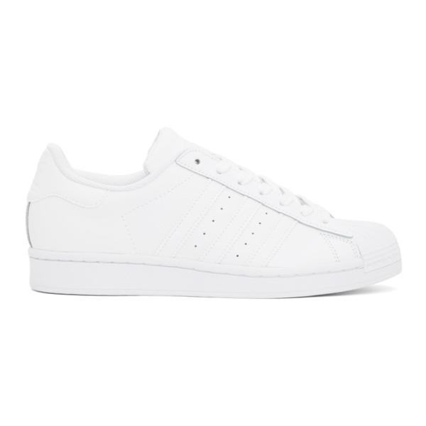 Adidas Originals Adidas Men's Originals Superstar Casual Shoes In White