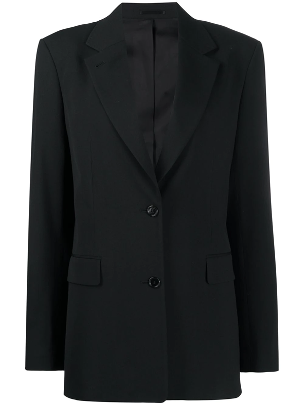 Filippa K Nadine Single-breasted Blazer In Black