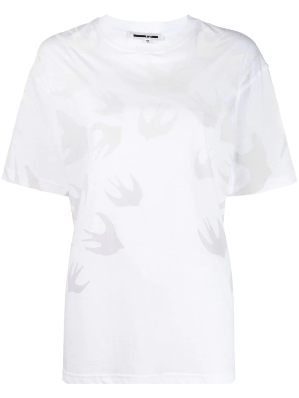 Mcq By Alexander Mcqueen Oversized Short-sleeve T-shirt In White