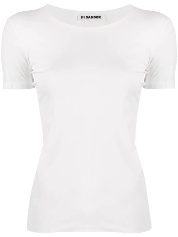 Jil Sander Seamless T-shirt In White
