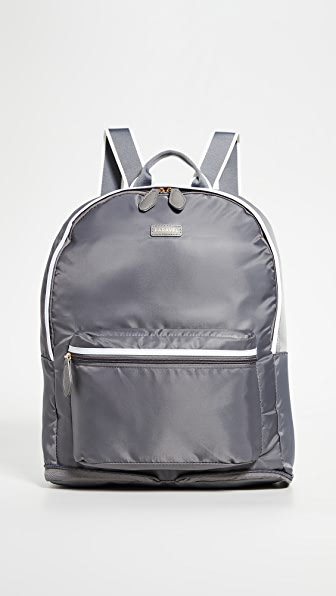Paravel Fold Up Backpack In Sidecar Grey