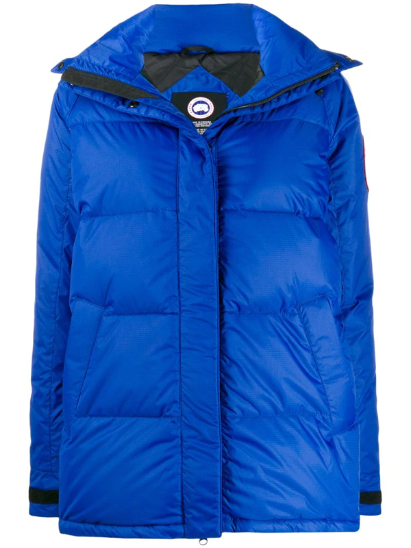 Canada Goose Approach Padded Jacket In Blue