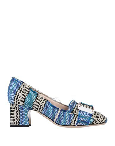 Pollini Loafers In Blue